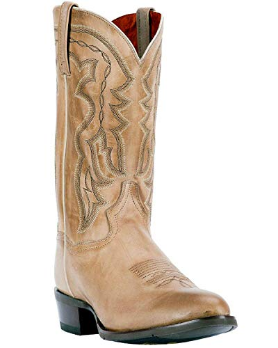 - Dan Post Men's Noah Burnished Sand Western Boot Round Toe Sand 8.5 D