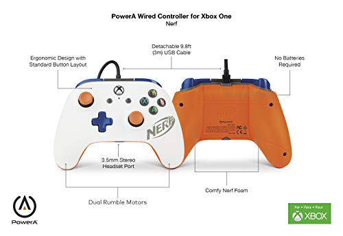 PowerA POWER A Wired Controller for Xbox One - Nerf 6