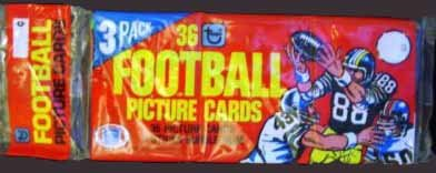 Cards Unopened Rack Pack (36 cards) (36 Football Card)