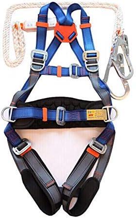HWTZ Arnés para escalar Equipo para el cinturón de seguridad ...