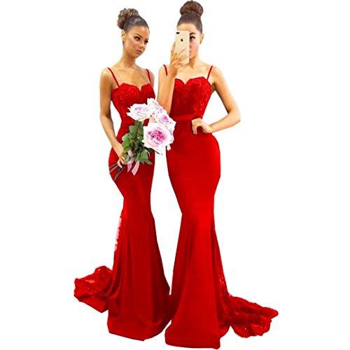 issa red long dress - 8