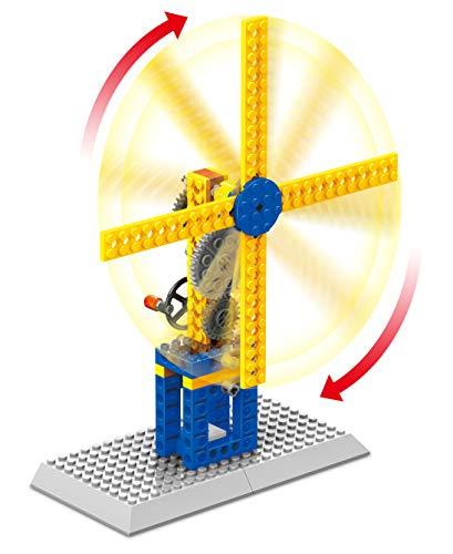 Fat Brain Toys Brain Bricks Mechanics: Wind Machines
