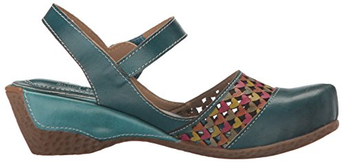 Tl Spring Step Amour by Women's Teal L'Artiste Wedge Sandal ZXCEq5ccxH