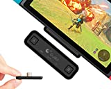 Gulikit Route Air Wireless Bluetooth Audio Transmitter Adapter APTX Low Latency Compatible with Nintendo Switch, Nintendo Switch Lite, PC Laptops for Airpods 2 Pro Bluetooth Headphone Speakers