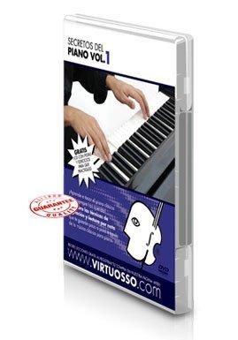 Virtuosso Classic Piano Instructional Method Vol. 1 (Curso De Piano Clásico Vol. 1) SPANISH ONLY