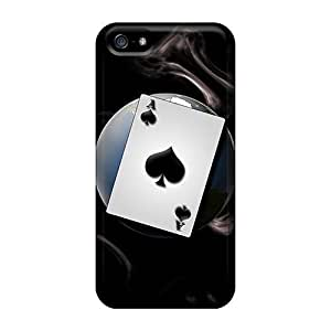 New Cute Funny Ace Case Cover/ Iphone 5/5s Case Cover