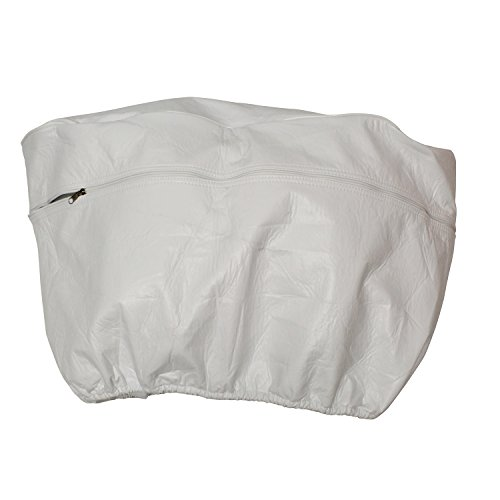 Dumble Camper Propane Tank Cover - Double 20 lb Propane Tank Cover for Camper RV Trailer, RV Single Propane Tank Cover