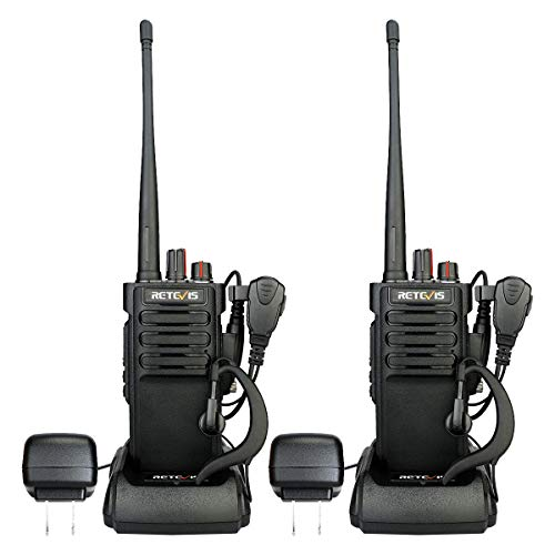 - Retevis RT29 2 Way Radio Long Range UHF 3200mAh VOX Encryption Security High Power Outdoor Walkie Talkies with Headsets G Shape(Black, 2 Pack)