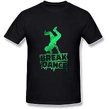 EMPEROR ARRIVE Green WEED Leaf Round Neck Short Tops, T Shirt For Men