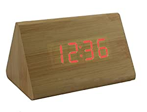 Ling @ Creative de LED electrónicos reloj despertador Silenciar Bombilla Termómetro Reloj Mode Reloj de pared Regalos electrónicos DIY, ...