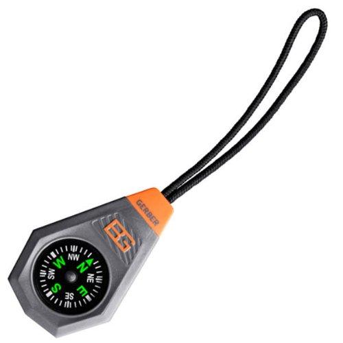 Gerber Bear Grylls Compact Compass w/ Zipper Pull - GE31-001777