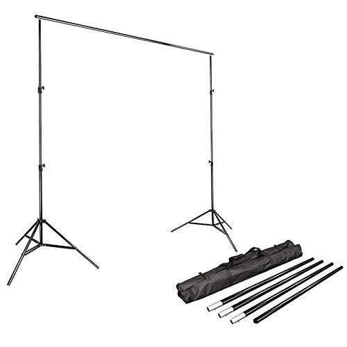 LimoStudio Photo Video Studio 10Ft Adjustable Muslin Background Backdrop Support System Stand, AGG1112 from LimoStudio