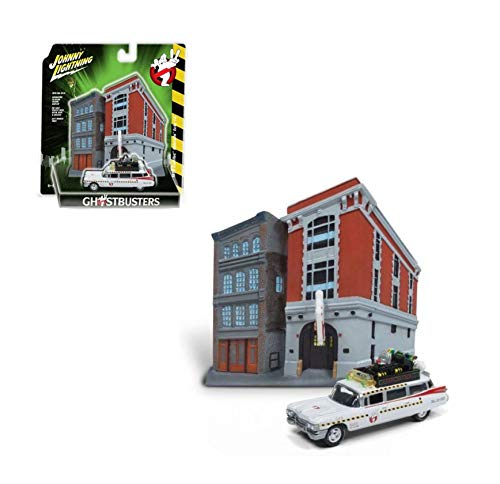 Johnny Lightning JLSP031-24 1: 64 Diorama - Ghostbusters for sale  Delivered anywhere in USA
