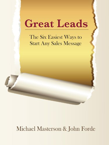 Great leads the six easiest ways to start any sales message great leads the six easiest ways to start any sales message english edition fandeluxe Gallery