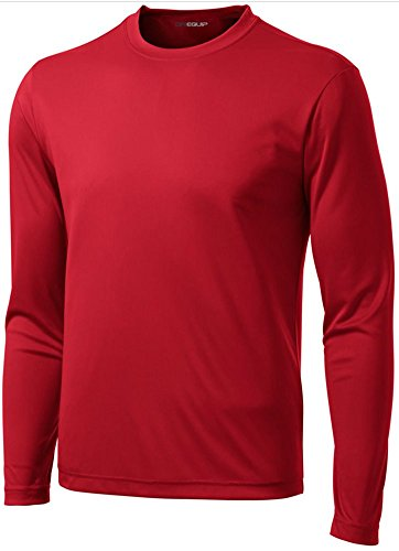DRI-Equip Tall Long Sleeve Moisture Wicking Athletic ()