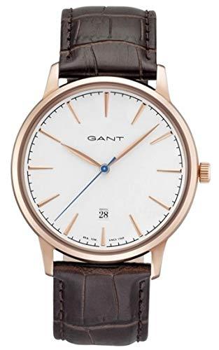 a9bb255bac98 Gant Reloj Multiesfera para Hombre de Cuarzo con Correa en Acero Inoxidable  GT020003  Amazon.es  Relojes