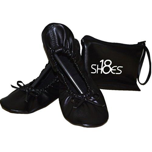 Shoes 18 Women's Foldable Portable Travel Ballet