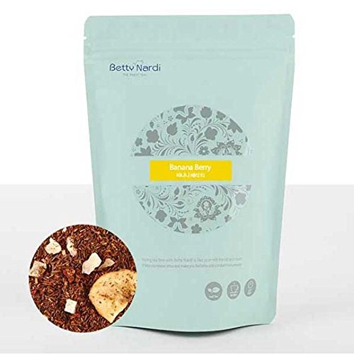 (Betty Nardi Herbal Tea - Banana Berry 140g Refill (Zippered Bag))