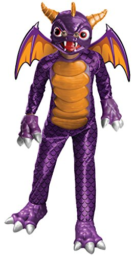 Rubie's Skylanders Academy Child's Spyro Costume, Large