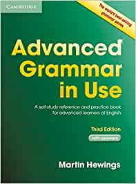 Advanced Grammar in Use. Third Edition. Book with answers.