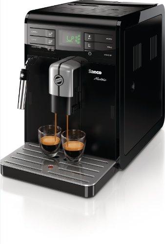 Saeco Moltio HD8766/01 - Cafetera automática, 1850 W, color negro