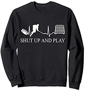 Ice Hockey  | Funny Hockey Tee | Ice hockey Gift Sweatshirt T-shirt | Size S - 5XL