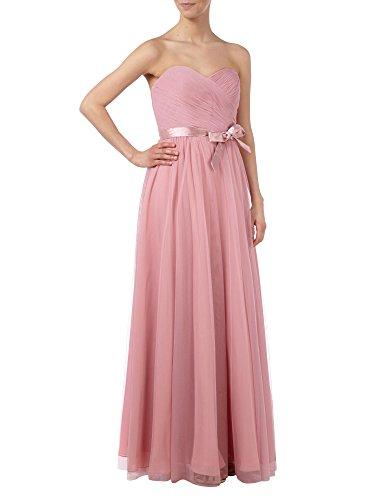 Grau Einfach Lang Marie Partykleider La A Rosa Elegant Linie Braut Abendkleider Herzausschnitt Brautjungfernkleider qRaxtIS