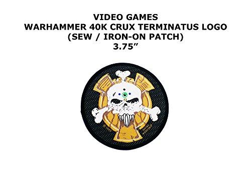 Space Marine Costume (Outlander Gear Warhammer 40K Space Marine Crux Terminatus 3.75