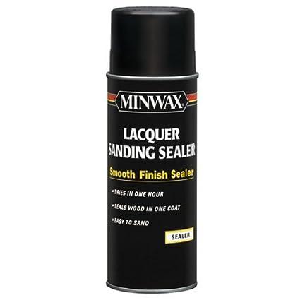 Minwax 154000000 Lacquer Sanding Sealer, Quart