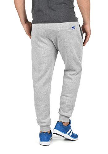 Sport Melange solid 8242 Survêtement Pour Pantalon Jogging Polaire Grey Light Bennpant De Doublure Homme BwqwR6T