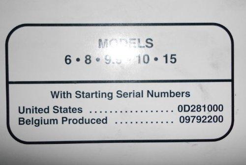 1998 Mercury 6 8 9.9 10 15 Service Manual
