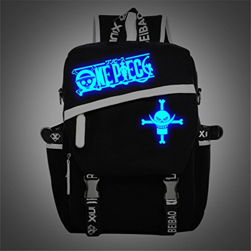 Yoyoshome One Piece Anime Luffy Zoro Chopper Cosplay Luminous Rucksack Backpack School Bag