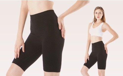 guaina CzSalus bianco snellente anticellulite contenitiva Pantaloncino corto ttwA1