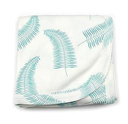 Kate Quinn Organic Unisex-baby Receiving Blanket, Onesize (Fern)