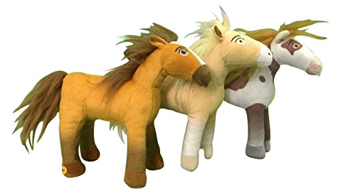 Horse 1908 (Spirit Riding Wild Horses Plush Bundle: Set of 3 includes Spirit, Boomerang and Chica Linda)