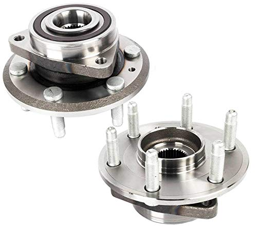 KARPAL Front/Rear Wheel Bearing & Hub Assembly 25848366 for Buick Enclave Chevrolet Traverse GMC Acadia Saturn Outlook (Pack of 2) ()