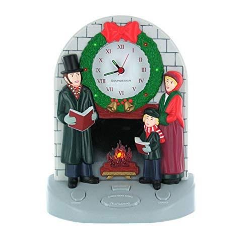 (SoundDesign Musical Christmas Carol Clock 3125G)