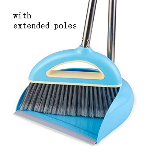 broom and dustpan with handle set - 8