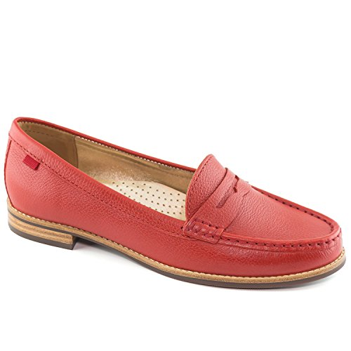 Marc Joseph Women's Red New Grainy York Village East ww1xrd6nOq
