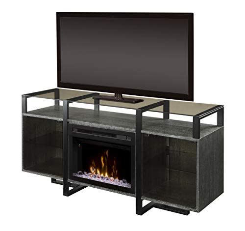 Cheap DIMPLEX Milo Media Console Electric Fireplace with Acrylic Ember Bed Black Friday & Cyber Monday 2019