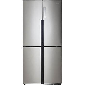 Haier HRQ16N3BGS Stainless Steel 4-Door Refrigerator