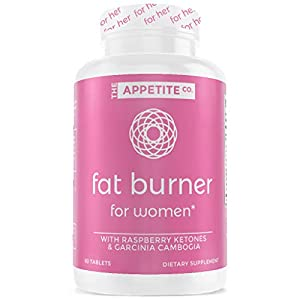 Appetite Suppressant | Weight Loss Pills for Women | Fat Burner for Women | Boost Energy & Metabolic Rate | Keto Pills | Diet Pills for Women | Carb Blocker | 60 Count Manufacturer: The Appetite Co