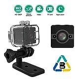 Cheap HongShengFZ Mini Waterproof Sports Camera 1080P HD Sports Cam 30 Meters/DV Recorder/Night Vision/Motion Detection Nanny Cam DVR Video Recorder