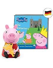 tonies Luisterfiguur voor Toniebox, Peppa Putz – De Ritterburg en 7 andere spannende Peppa Pig verhalen, luisterspel voor kinderen vanaf 3 jaar, speeltijd ca. 44 minuten