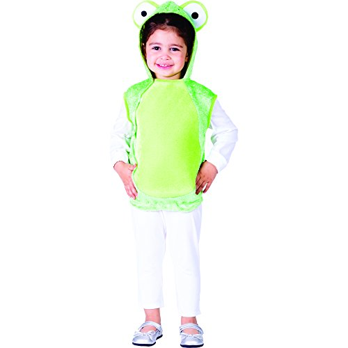 Dress Up America Mr. Frog Costume - Size Toddler -