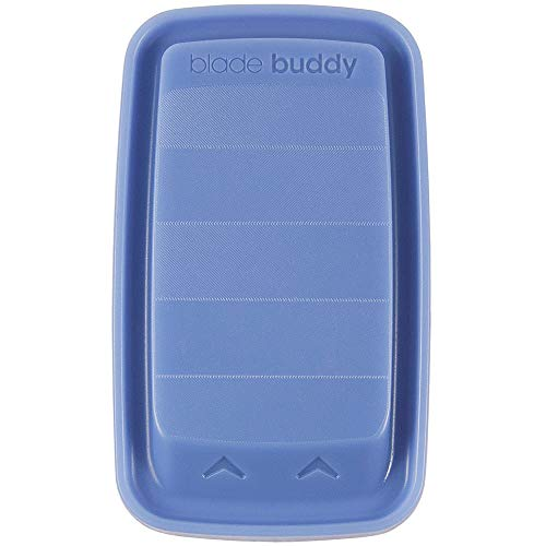 (Blade Buddy by RazorCare - The Ultimate Shave Tool for Men and Women - Blue)