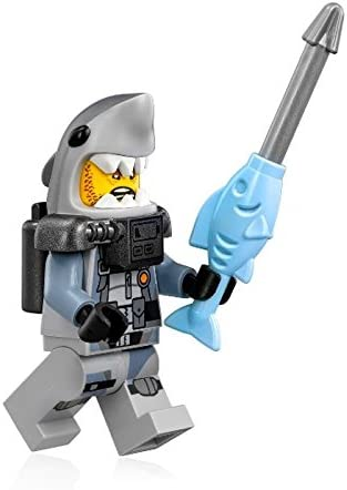 The LEGO Ninjago Movie Minifigure - Shark Army Great White (Scuba Suit) 70613