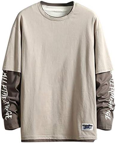 パーカー メンズ スウェットシャツ、長袖 無地 付き 、ゆったり 大きいサイズ 春秋 新しいトレンド おしゃれ カジュアル リラックス 旅行 (グレー, M)