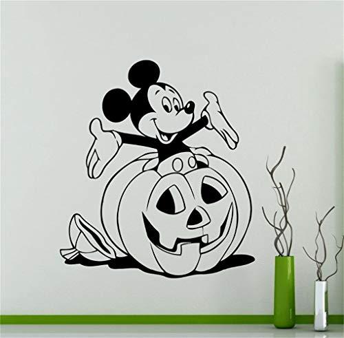 Umondon Wall Decal Sticker Art Mural Home Dcor Quote Halloween Mickey Mouse Cartoon Aniaml Pumpkin Pattern Home Decor Kids Rooms Gifts -