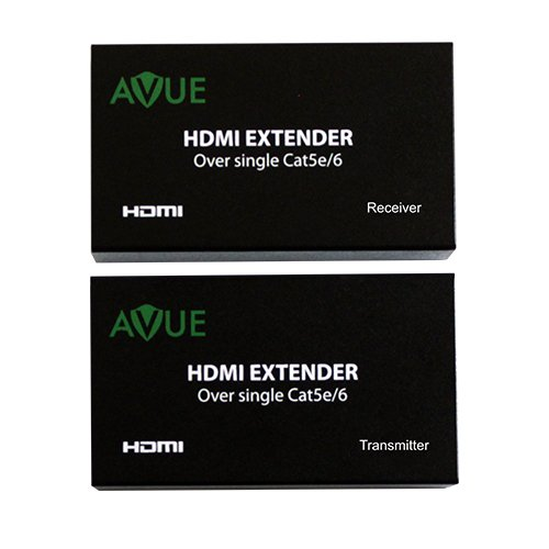 AVUE HDMI-EC200 HDMI Extender over single Cat5e or cat6/7 cable up to 200 feet by AVUE